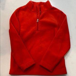Obermeyer 3/4 Zip Fleece Pullover in Red
